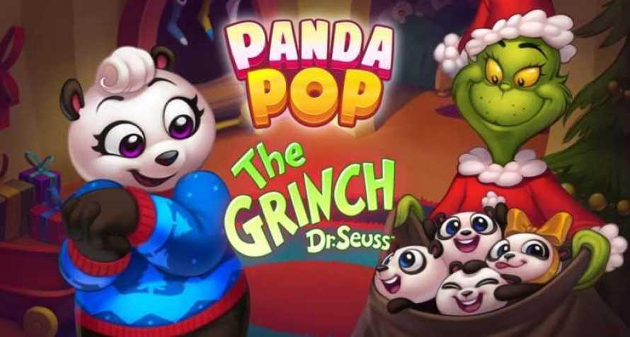 El Grinch se apodera de Panda Pop en la temporada navideña