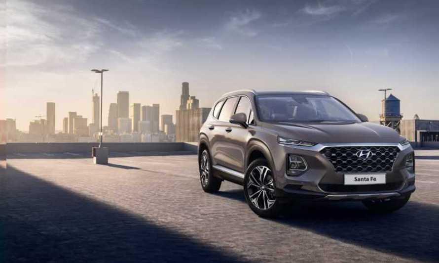 Hyundai revela las primeras imágenes de Santa Fe 2018