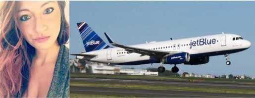 Mujer arma rebú en vuelo de Jet Blue Puerto Plata-NY