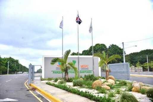 Parque Central de Santiago será entregado a finales de febrero
