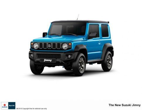 Suzuki Motors presenta el nuevo modelo Jimny
