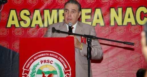 José Hazim nuevo presidente de un sector del PRSC