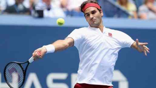 Roger Federer derrota a Nick Kyrgios