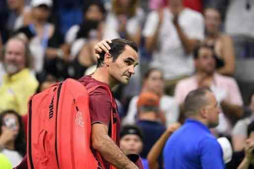 Roger Federer cae ante el australiano John Millman