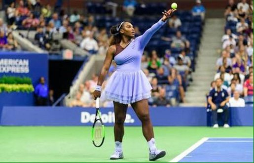 Serena Williams logra vencer a Kaia Kanepi