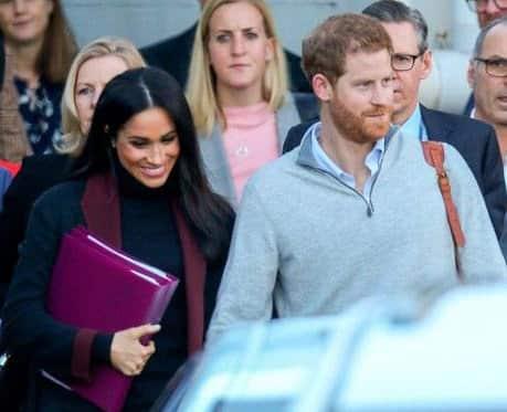 Meghan Markle y el príncipe Harry esperan su primer hijo