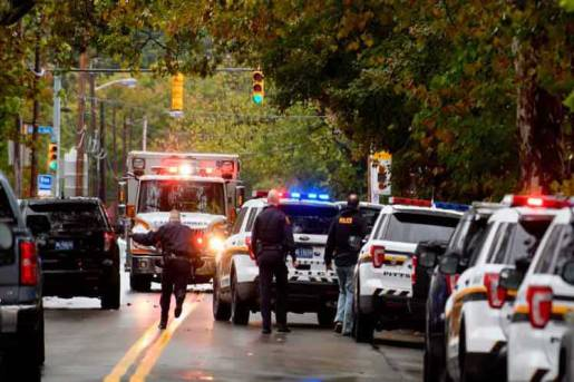 Pittsburgh: Al menos 11 muertos por tiroteo sinagoga
