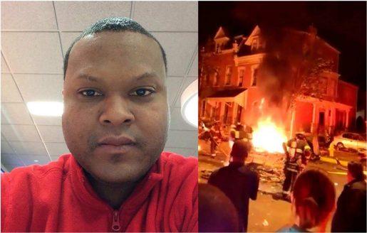 Dominicano grabó explosión carro en Pensilvania