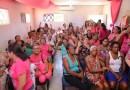 Campanha Outubro Rosa contra o câncer de mama em Barreiras