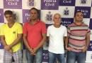 Sequestradores de ex-prefeito são apresentados à imprensa