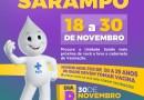 Segunda etapa da Campanha de Vacinação contra o Sarampo começa na quinta-feira (14), em Barreiras