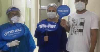 Secretaria de Saúde celebrada mais uma alta hospitalar nos leitos para Covid-19, em Barreiras