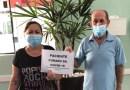 Após receber os cuidados da equipe do Pronto Atendimento Coronavírus, mais dois pacientes recebem alta
