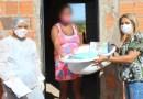 Secretaria de Assistência Social e Trabalho entrega kits natalidade para mães assistidas pelos CRAS, em Barreiras
