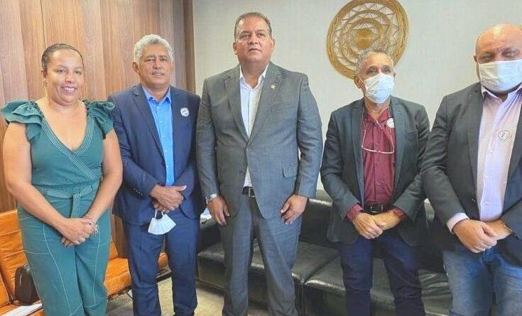 Deputado Cleiton Cardoso e prefeitos vão a Brasília apresentar demandas ao Senador Eduardo Gomes