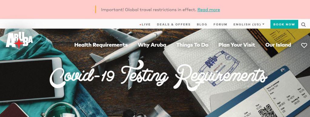 A.T.A.: Información importante y requisitos para viajeros