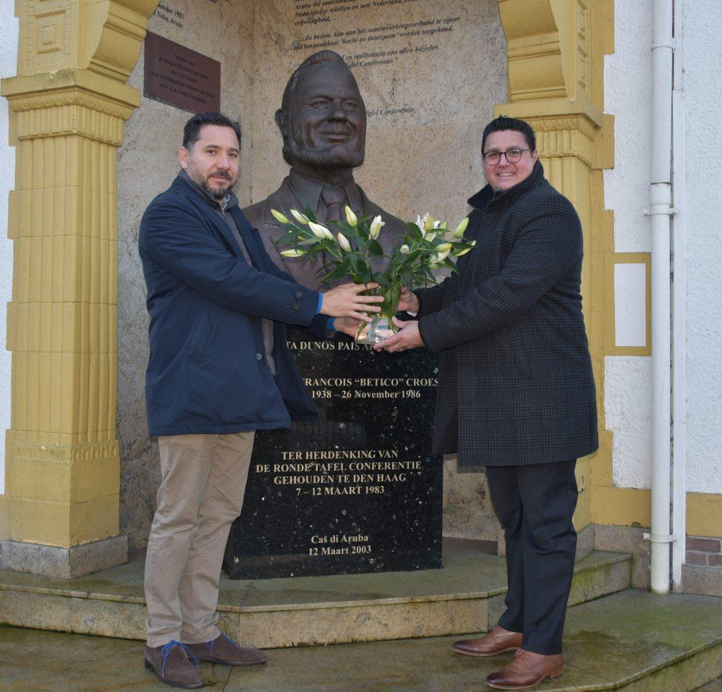 Ministro Besaril conmemora el 'Día de Betico' en Arubahuis