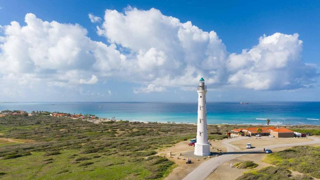 Faro California Aruba Caribbean