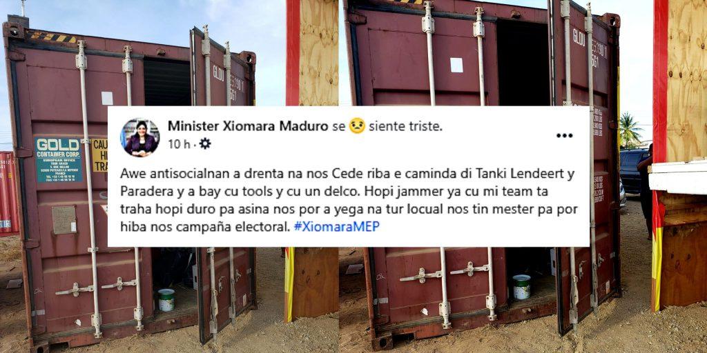 Robo en propiedad de Ministra Xiomara Maduro, Antisociales se llevaron herramientas.