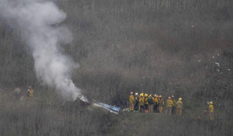 Kobe Bryant: las impactantes imágenes del accidente donde murió