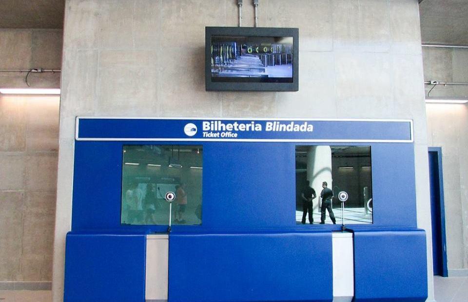 Bilheteria da Estação Booklin