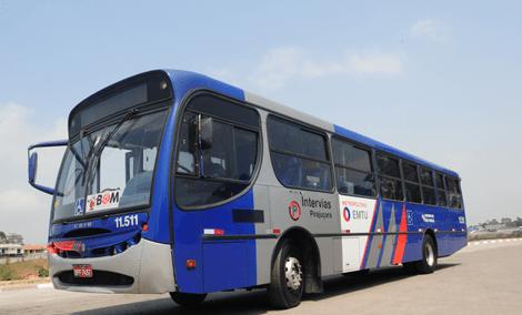 Alto Tietê Ônibus da EMTU transporte metropolitano