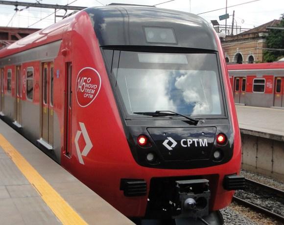 Linha 7-Rubi novo Trem da série 9500 da CPTM