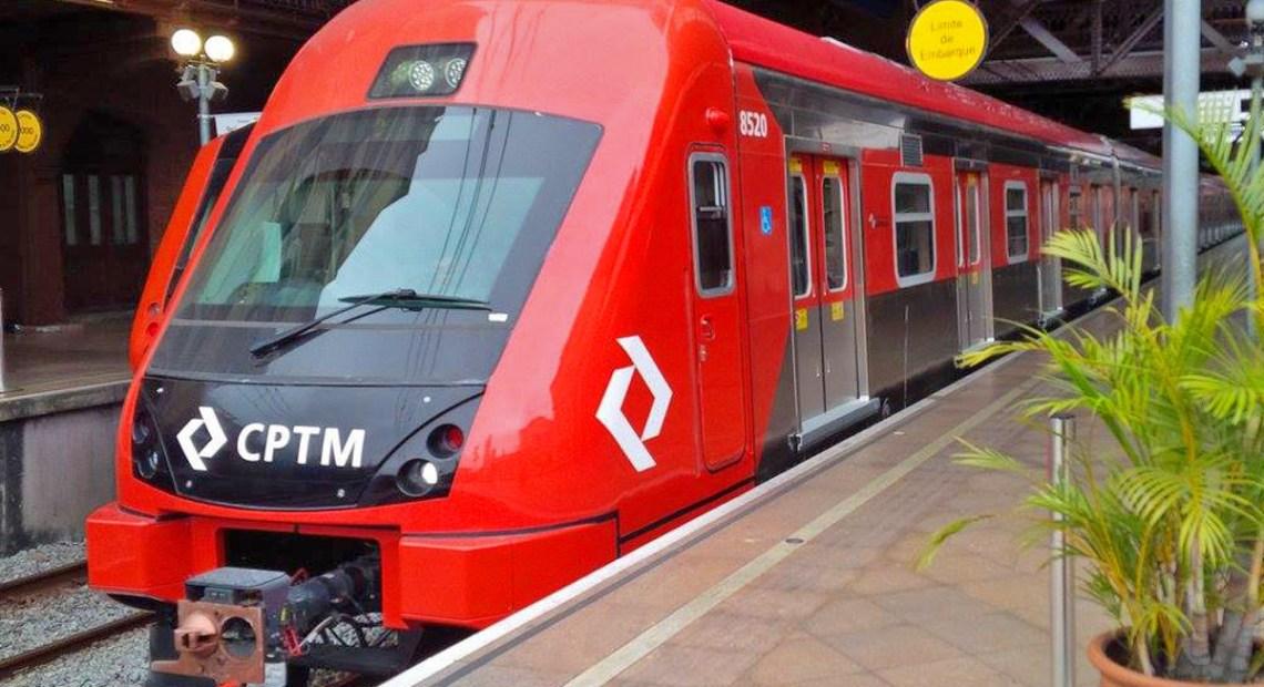 série 8500 Obras estações da CPTM trens da cptm comércio ambulante