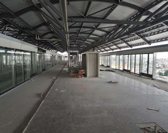 Estação São Mateus Linha 15-Prata