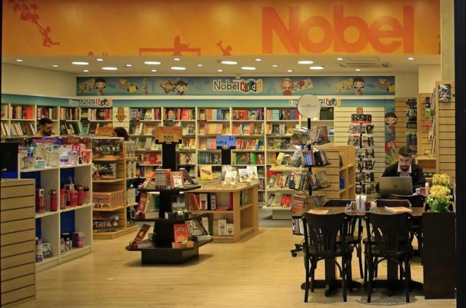 livraria nobel donuts franco da rocha