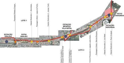 Projeto da extensão na Linha 9- Esmeralda
