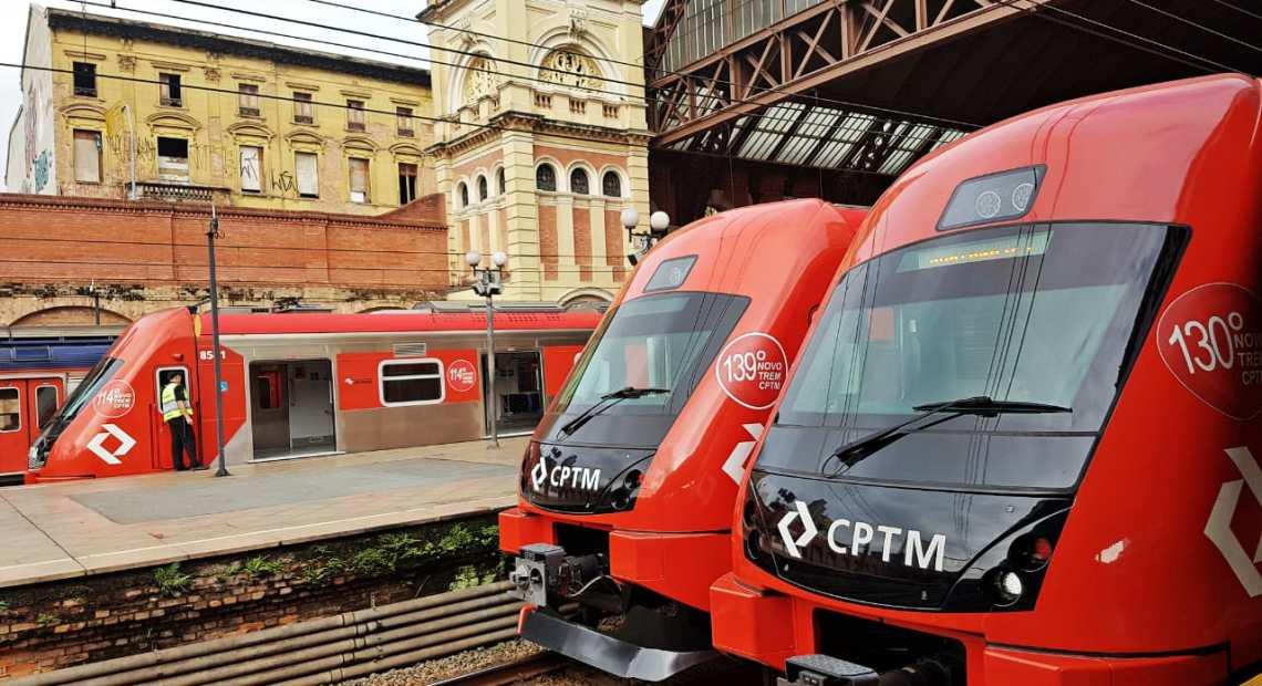 Estação da Luz Linha 7-Rubi CPTM