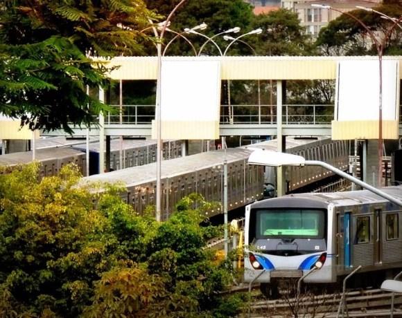 Pátio Jabaquara do Metrô Operador de trem
