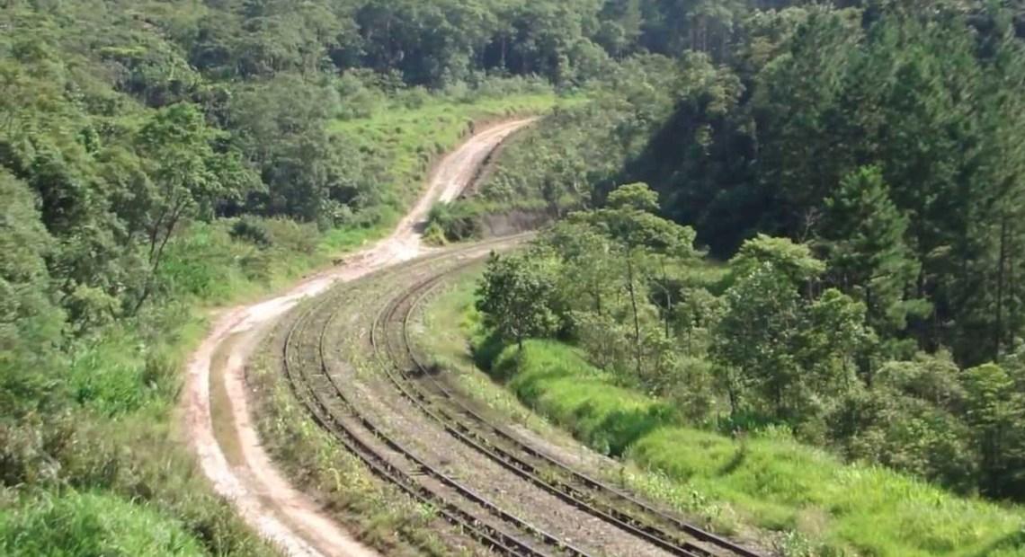 Trem para Santos