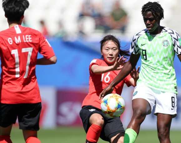 Nigéria e Coreia do Sul