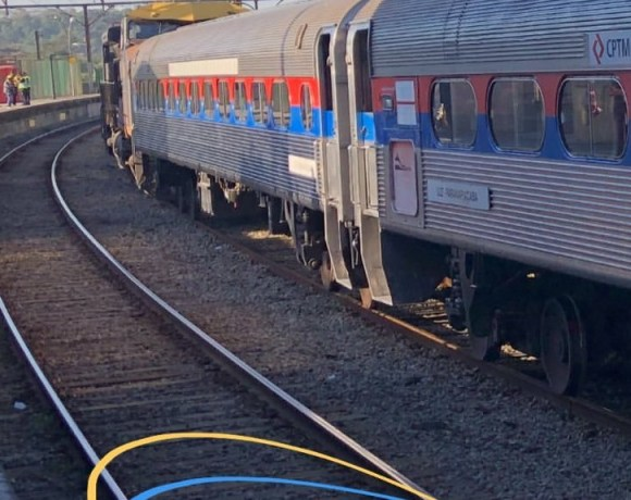 Trem Intercidades para Santos