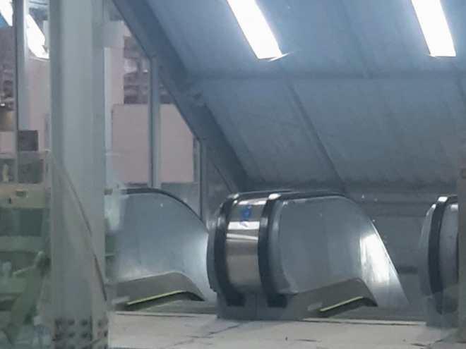 Escada rolante de Francisco Morato