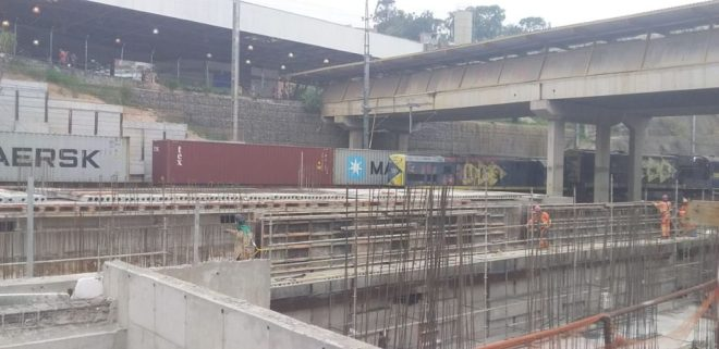 Estação de Francisco Morato em Obras - Rede Noticiando