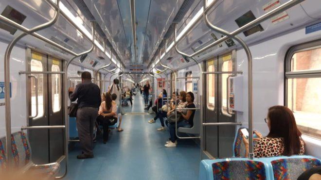 Linha 7-Rubi  no Brás