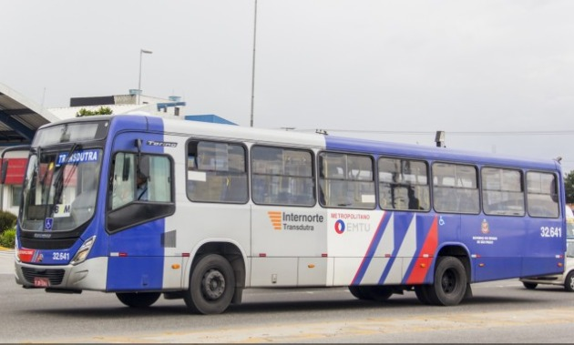ônibus da emtu transdutra