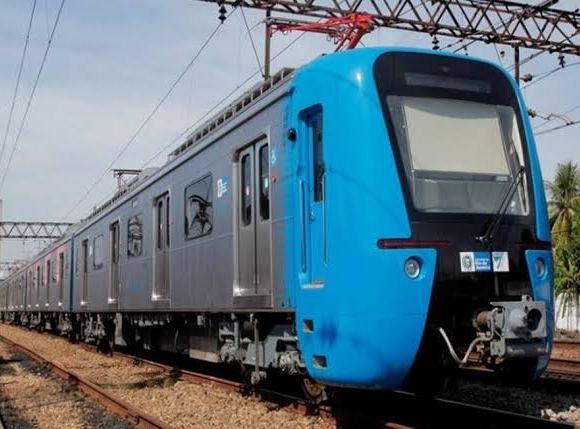 Supervia trem chinês