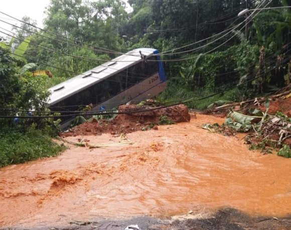ônibus da sambaiba arrastado