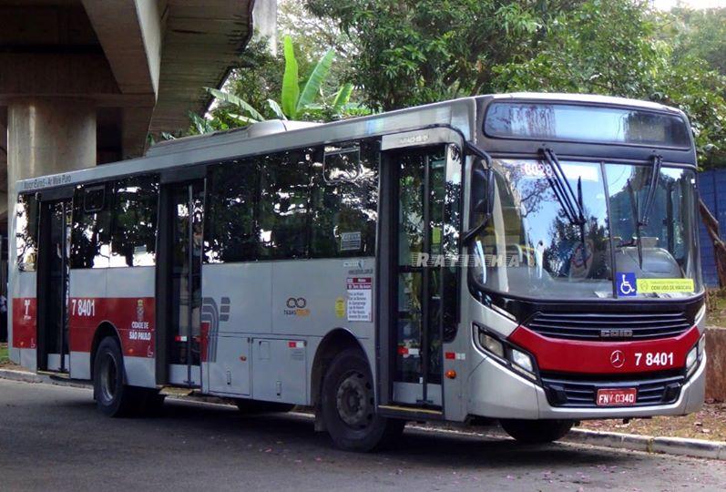 Ônibus da SPTrans Transwolff