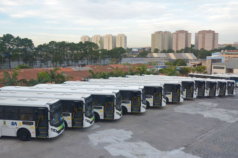 congresso Novos ônibus de Santo André