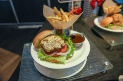 24-Karat Gold Leaf Steak Burger