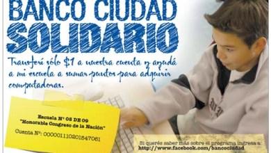 Photo of EL BANCO CIUDAD REGALA COMPUTADORAS
