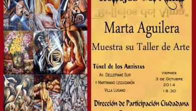 Photo of MUESTRA PICTÓRICA DE MARTA AGUILERA EN EL TÚNEL DE LOS ARTISTAS