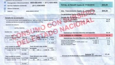 Photo of ES OFICIAL: EL TARIFAZO ENERGÉTICO ALCANZA EL 300%