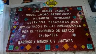 Photo of Homenajearán a los desaparecidos de la Comuna 15