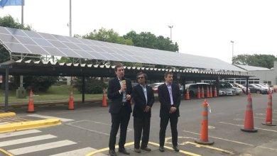 Photo of Paneles solares en el peaje de Parque Avellaneda